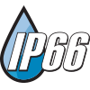 IP66 Rated for Wet and Hose Down locations