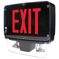 NXFC Series NEMA 4X, NSF Certified, LED Combo Exit Sign