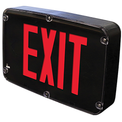 NXFX Series NEMA 4X, NSF Certified, LED Exit Sign