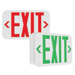 QXS Series Universal Red/Green, Slim Thermoplastic Exit